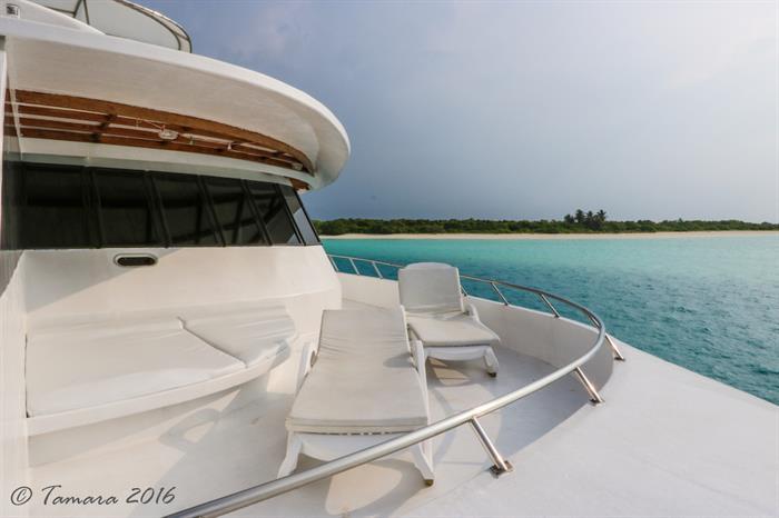 Private Sun Deck to Suite