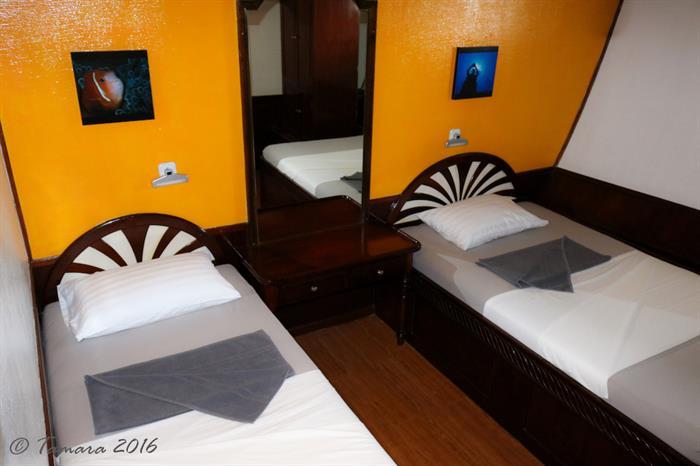 Twin Cabin - Amba Maldives