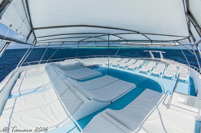 Spacious Sun Deck - Amba Maldives