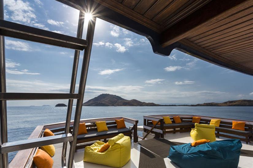 Outdoor Lounge Area - Ambai Liveaboard