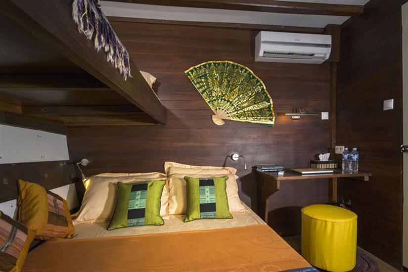 Lower Deck Cabin 2 - Ambai Indonesia