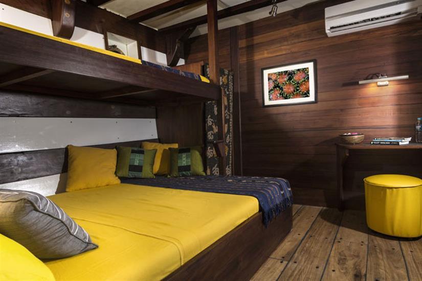 Lower Deck Cabin 3 - Ambai Indonesia