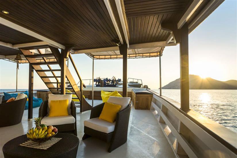 Comfortable Outdoor Seating Area - Ambai Indonesia
