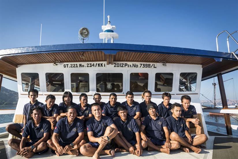 The Crew of Ambai Indonesia