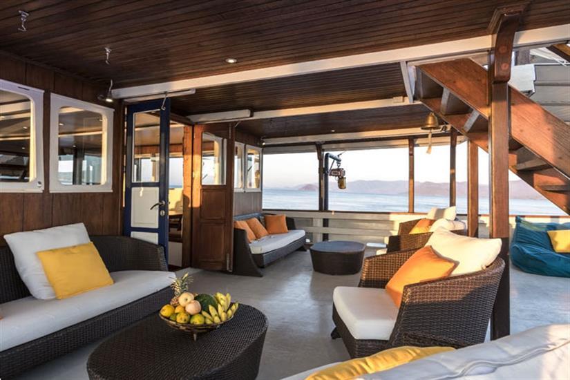 Relaxation Deck - Ambai Liveaboard