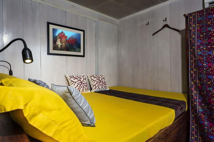 Lowe Deck Double Cabin - Ambai Liveaboard
