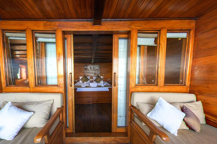 Private balcony for Master Cabin 5 - Damai II