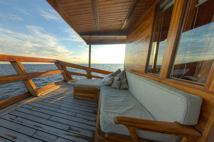 Private Balcony for Master Cabin 6