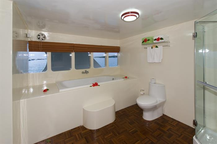 En-Suite Bathroom for the Suite