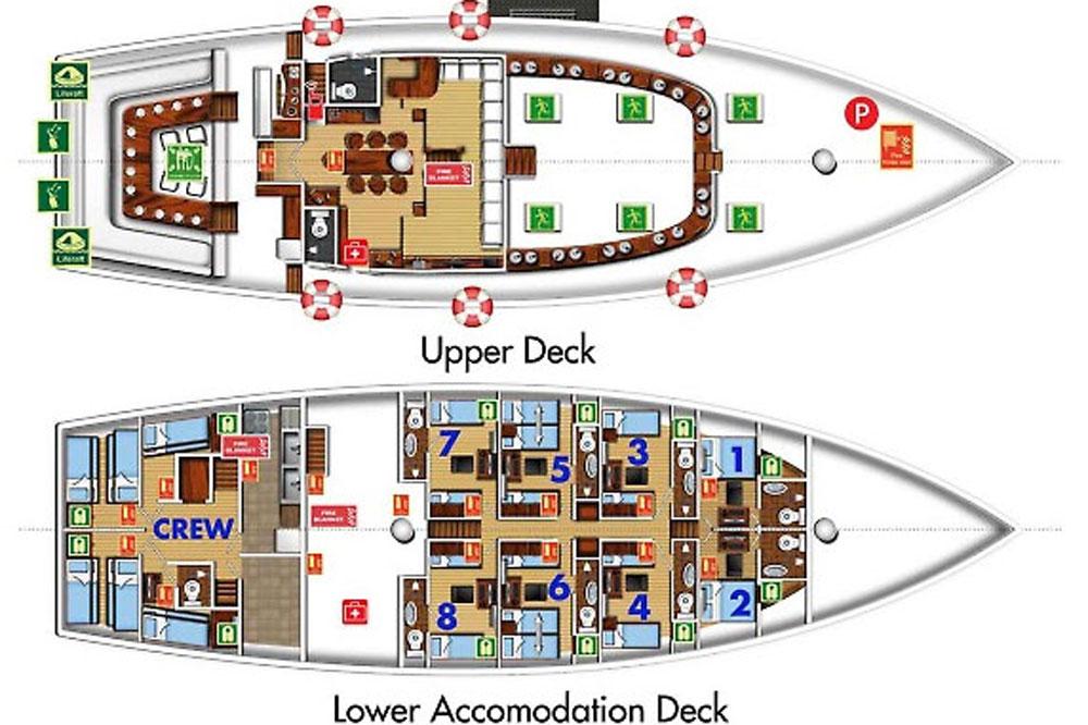 Philippine Siren floorplan