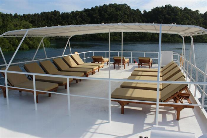 Sun Deck - Mermaid I Liveaboard