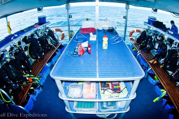 Dive Deck - Spoilsport Liveaboard Australia