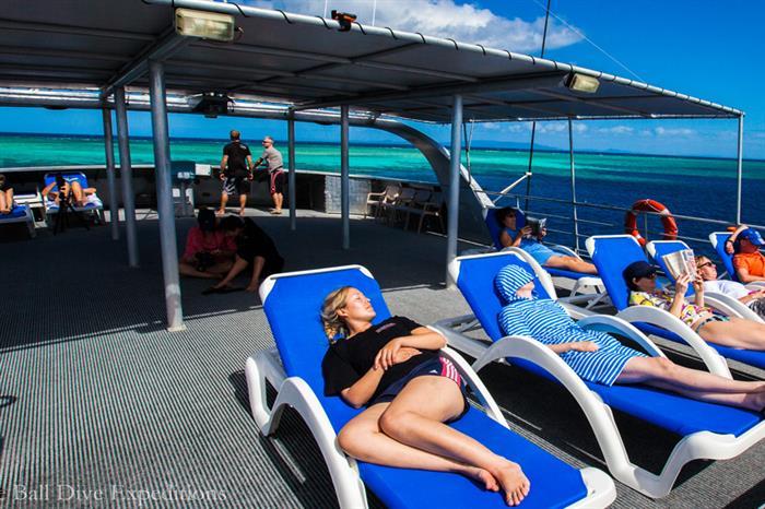 Sun Deck - Spoilsport Liveaboard Australia
