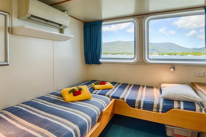 Standard Cabin - Spoilsport Liveaboard Australia
