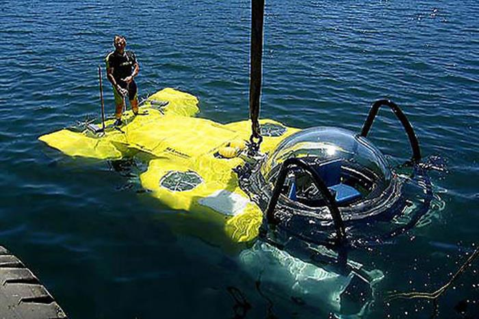 Argo Liveaboard DeepSee Submersible