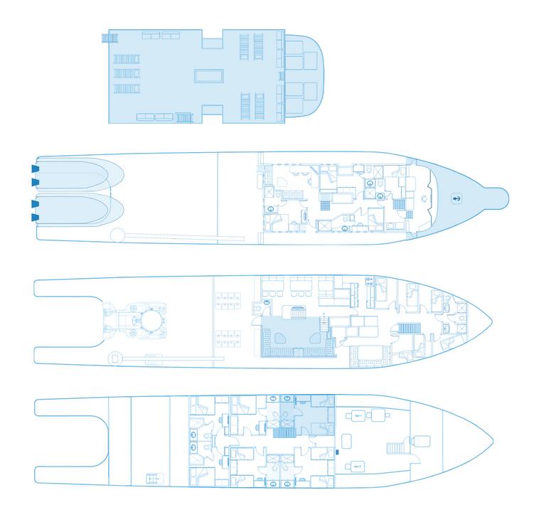 Argo Liveaboard floorplan