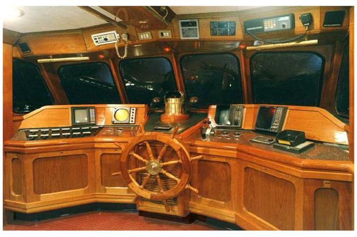 Solmar V Liveaboard Wheel House