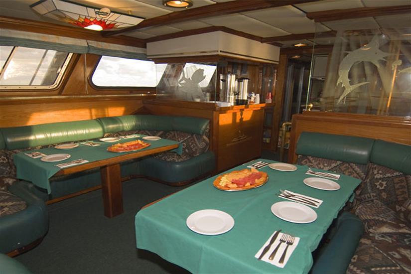 Dining Area - Solmar V Liveaboard
