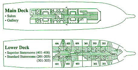 Solmar V Deck Plan floorplan