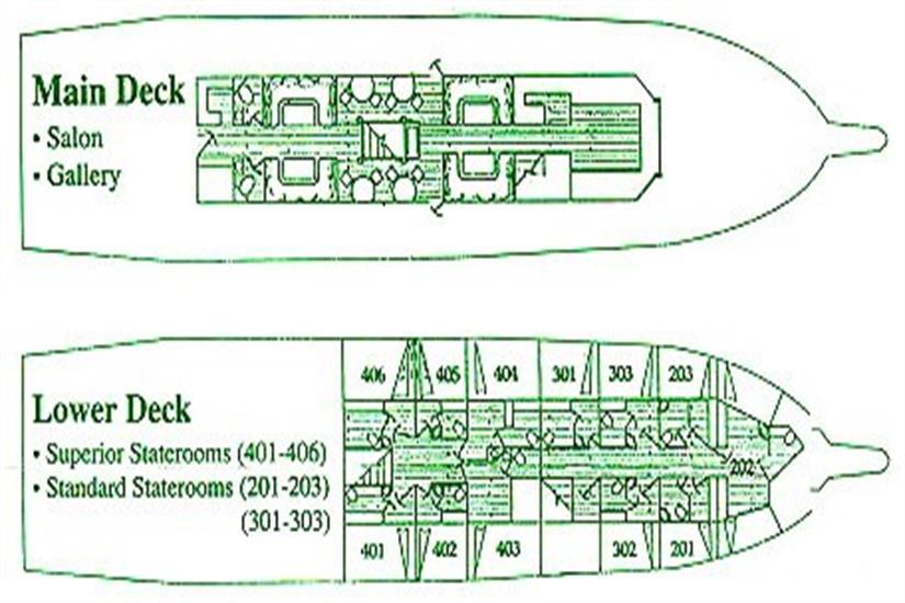 Solmar V Deck Plan