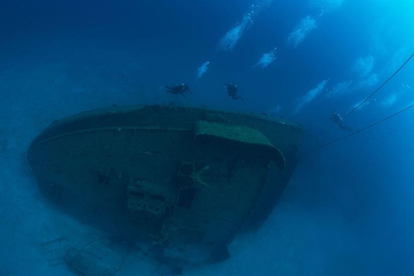 Odyssey Wreck Bay Islands