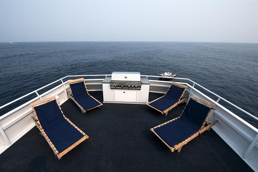 Sun deck - Caribbean Pearl II
