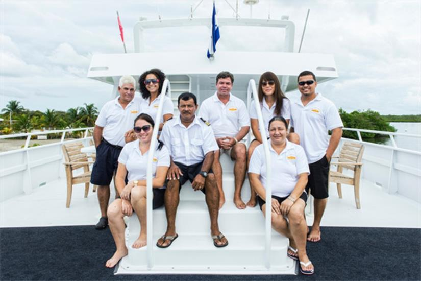 Crew of the Caribbean Pearl II