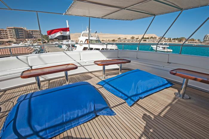 Sun Deck - blue Fin Egypt