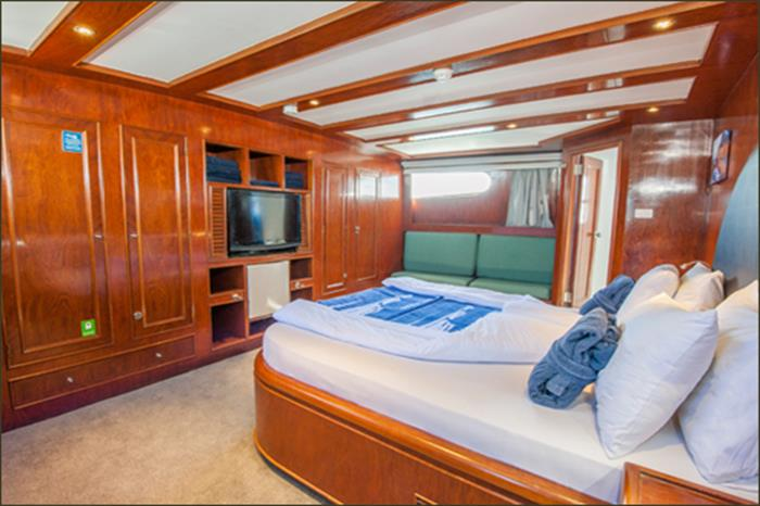 King Suite - Blue Fin Liveaboard (Main Deck)