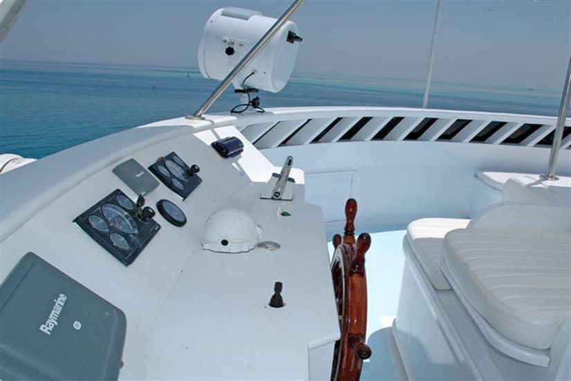 Top deck - Blue Horizon Liveaboard