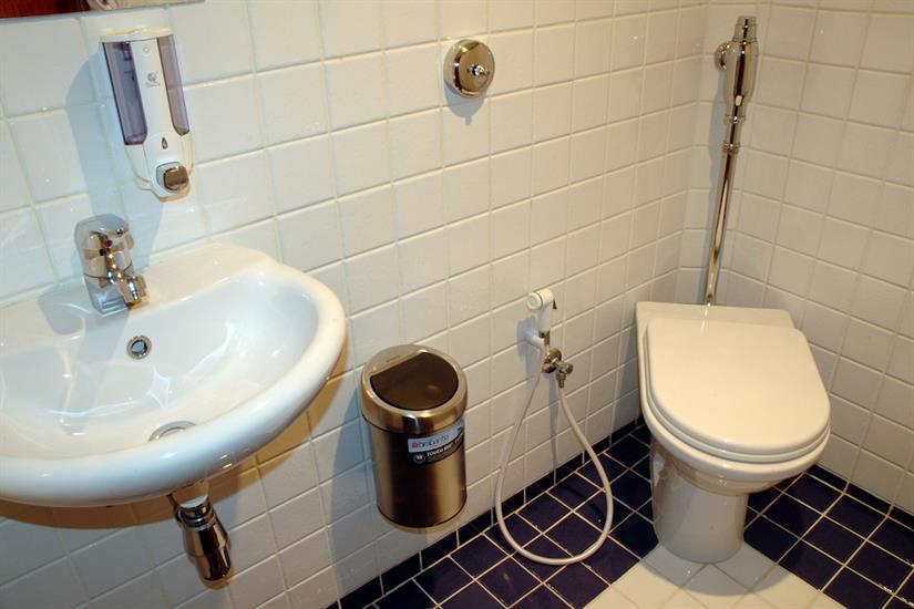 En-suite facilities in all cabins - Blue Horizon