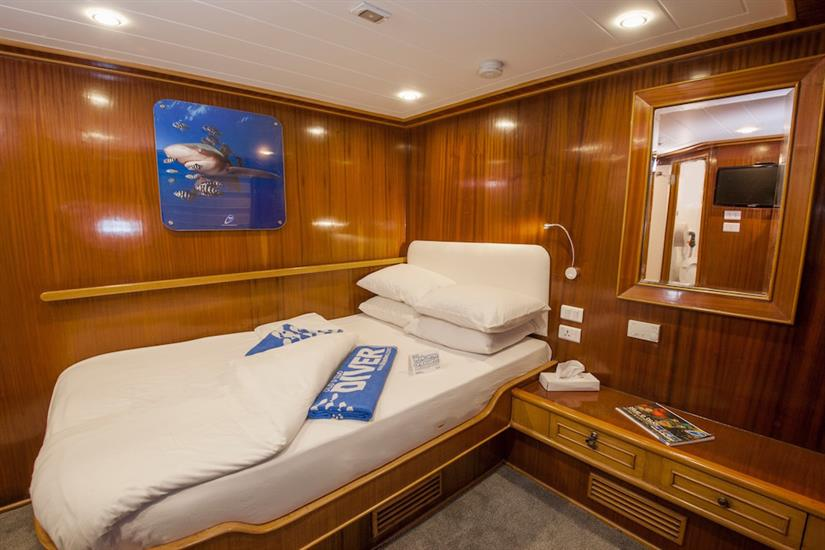 Double Cabin - - blue Melody Red Sea