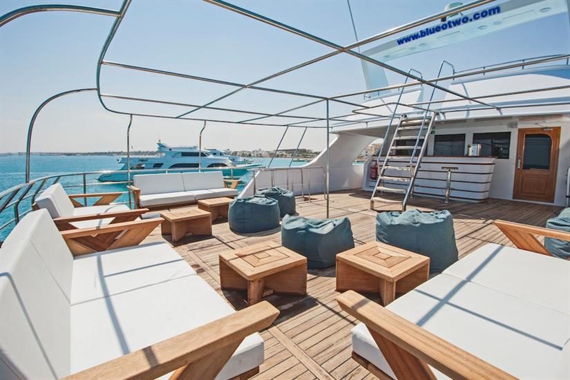 Outdoor lounge - blue Melody Red Sea