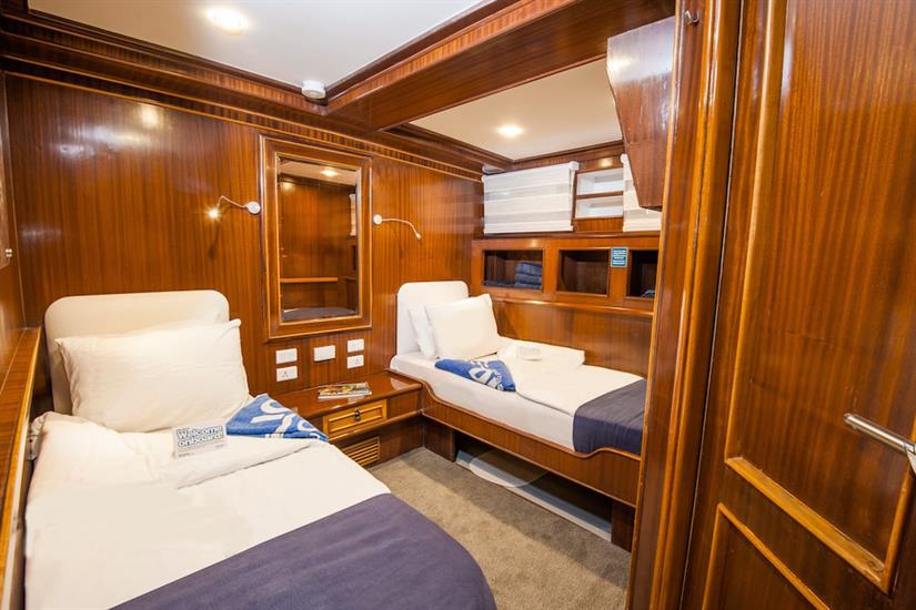Twin Cabin - blue Melody Red Sea