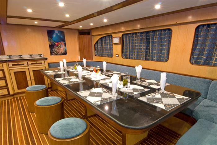 Dining Area - Blue Voyager