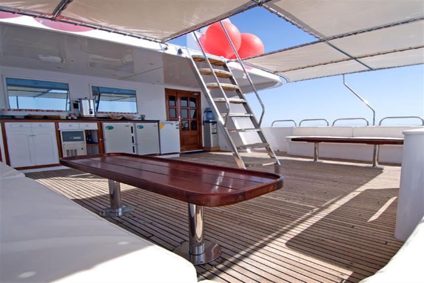 Outdoor Deck - Blue Voyager Maldives