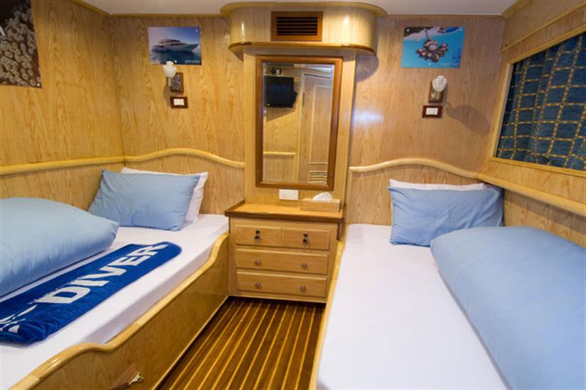 Twin Cabin - M/V Blue Voyager