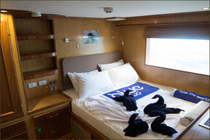 Double Cabin - Blue Voyager Maldives
