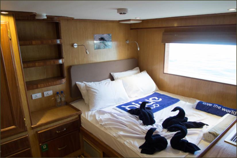 Double Cabin - Blue Voyager Maldives