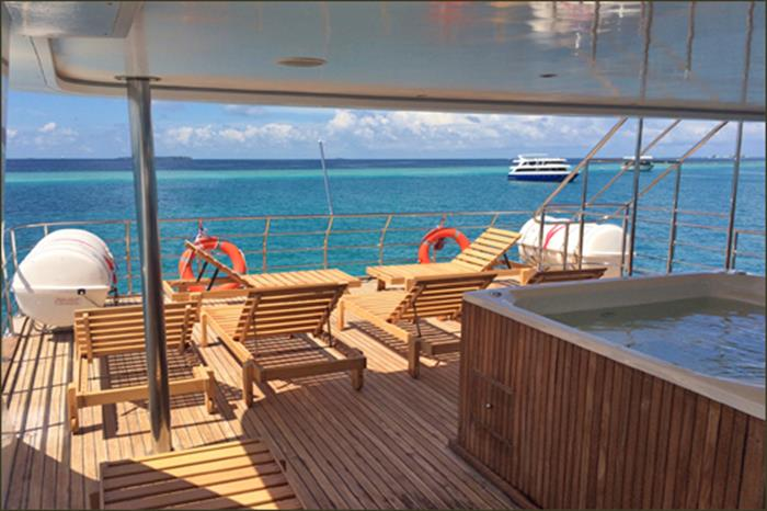 Sun Deck - Blue Voyager Maldives