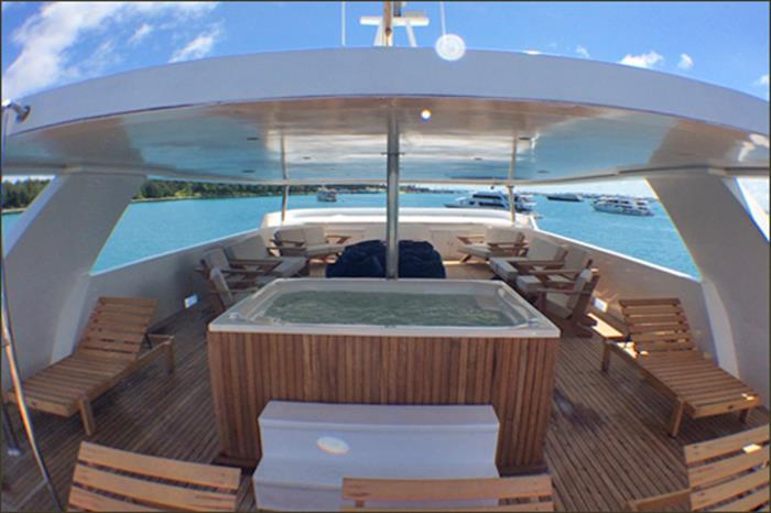 Relaxation on the Blue Voyager Maldives