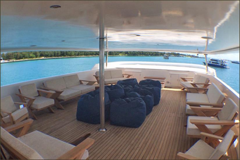 Open Air Deck - MV Blue Voyager