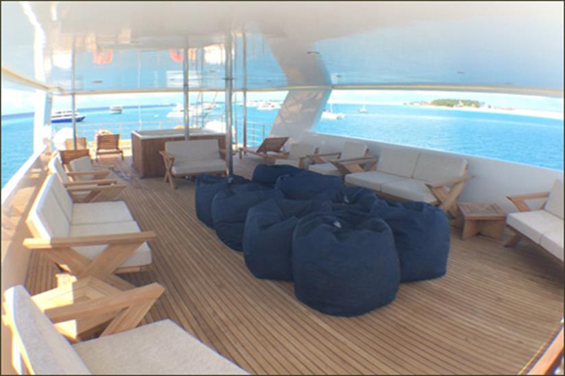 Open Air Deck - Blue Voyager