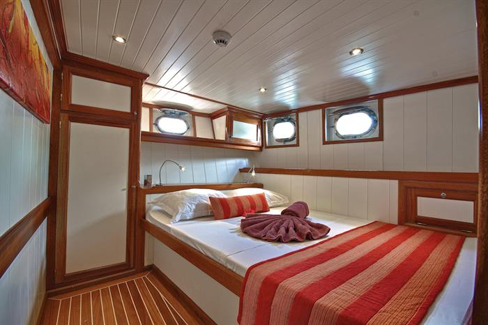 Single cabin - Galatea Liveaboard