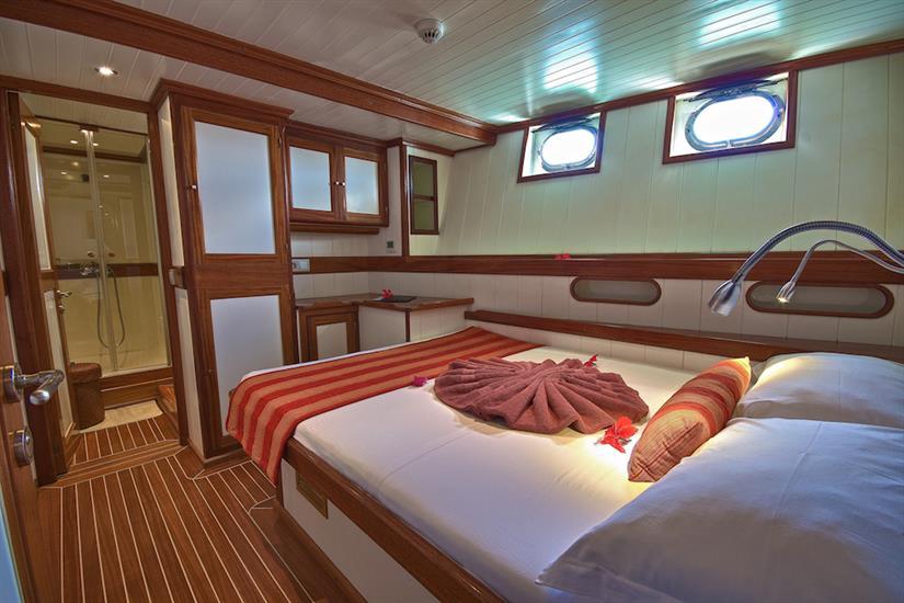 Double cabin - Galatea Liveaboard