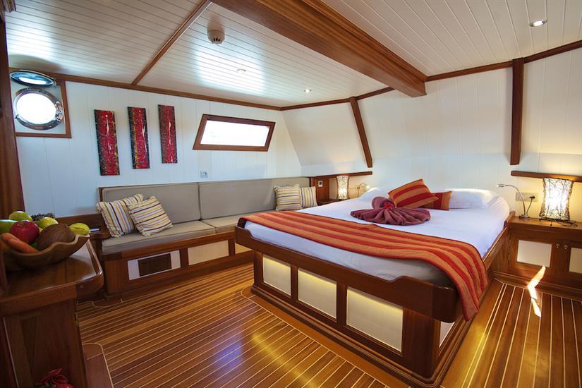 Master Suite cabin - Galatea Liveaboard
