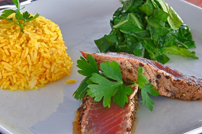 Fantastic meals served onboard Galatea Liveaboard