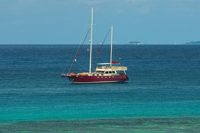 Beautiful waters of the Seychelles - Galatea Liveaboard