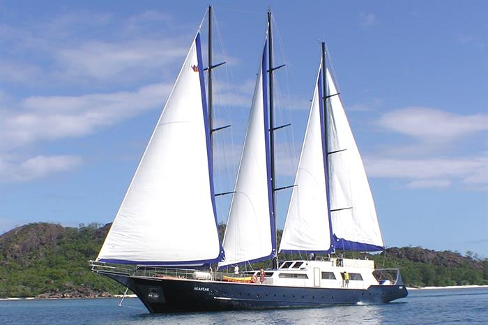 Sea Star Liveaboard - sailing the Seychelles