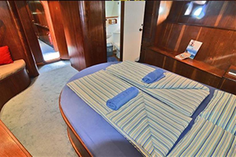 Honeymoon Double cabin - Sea Star Liveaboard